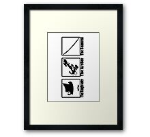 The Walking Dead - Classes - Game On! Framed Print