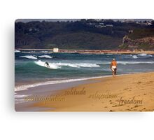Seaside Stroll Canvas Print