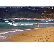 Seaside Stroll Photographic Print