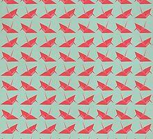 Paper Cranes by Chloe Morris