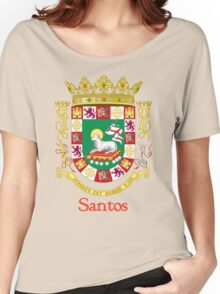 Santos Shield of Puerto Rico Women's Relaxed Fit T-Shirt