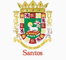 Santos Shield of Puerto Rico Unisex T-Shirt