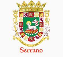 Serrano Shield of Puerto Rico Unisex T-Shirt