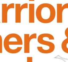 Loyal to the Bay - San Francisco (Orange Print) Sticker