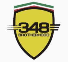 Ferrari 348 Brotherhood / Color / Small Shield  by Ferraridude
