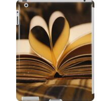Book Pages made into a Heart iPad Case/Skin