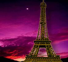 Eiffel Tower in the Sunshine by ElenaIndolfi