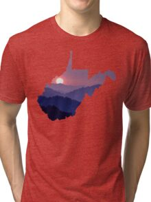 The West Virginia Hills Tri-blend T-Shirt