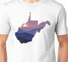The West Virginia Hills Unisex T-Shirt