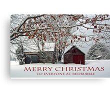 Merry Christmas - 2015 Canvas Print