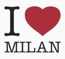 I ♥ MILAN Kids Clothes