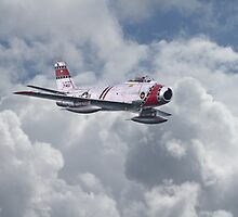 F86 Sabre by Pat Speirs