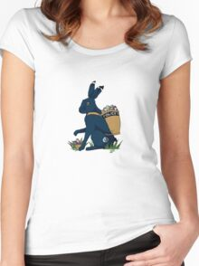 A Timey-Wimey Easter II Women's Fitted Scoop T-Shirt
