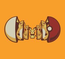 Pokemon Cool Shirt - Pikachu Evolution by zaknorris5
