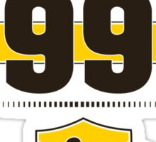 Born in 1991 (Choco&Yellow) Sticker