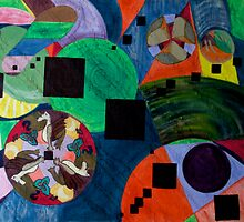 Nebula Compass by Monica Beadles