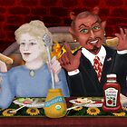 Dinner with the Devil  by Kim  Harris