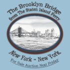 Brooklyn Bridge For Sale by James Lewis Hamilton