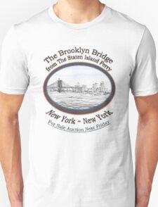 Brooklyn Bridge For Sale Unisex T-Shirt