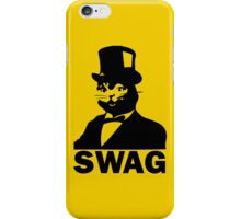Kitty Kat in Top Hat Swag iPhone Case/Skin