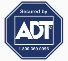 ADT Home Security Sticker Sign Logo by Ganondorf