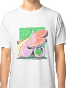 The Shape Of Love Classic T-Shirt