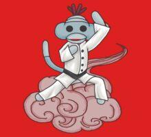 Karate Sock Monkey by Darthblueknight