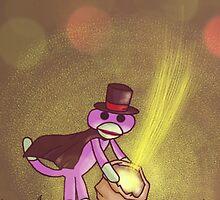 Magic Sock Monkey by Darthblueknight