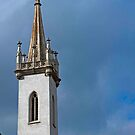 Cathedral Spire & Clock by phil decocco