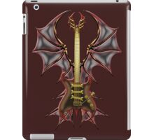 Gothic Guitar Bat Wings iPad Case/Skin