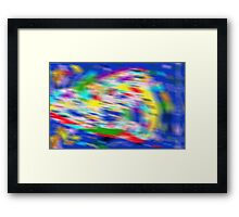 Holographic Abstract Framed Print
