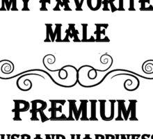 ALE For My Favorite Male Sticker