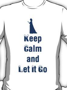 Frozen - Keep Calm and Let it Go - Elsa - Disney Princess   T-Shirt