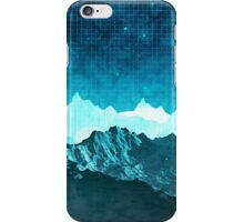 Outer Space Mountains iPhone Case/Skin
