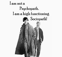 Sherlock High Functioning Sociopath Tee Unisex T-Shirt