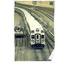 Via Rail Train Poster