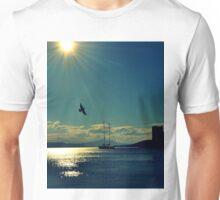 sunset in bodrum Unisex T-Shirt