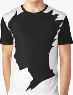 Nishinoya Yuu - Silhouette Graphic T-Shirt