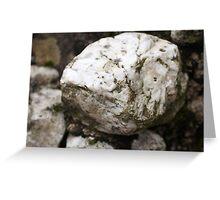 Stone Greeting Card