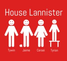 Game of Stick Figures - House Lannister by Creighton Linza