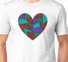Sewn Heart Unisex T-Shirt