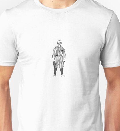 New York Yankee Baseball Player Unisex T-Shirt