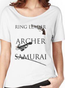 Ring Leader, Archer, Samurai Women's Relaxed Fit T-Shirt