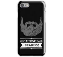 Beards iPhone Case/Skin