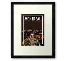 MONTREAL FRAME Framed Print