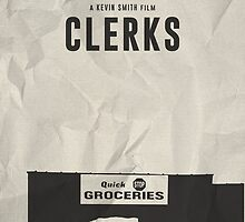 37 - Clerks Poster by edwardjmoran