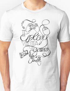 I Play Vidja Games (Black) T-Shirt