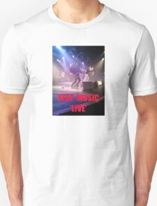 Music Keep Music 'Live' T-Shirt