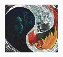Snape Dumbledore YIN-YANG by juliabohemian