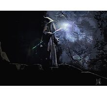 Gandalf The Grey.  Photographic Print